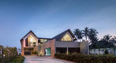 บ้านกลางสวนดีไซน์เก๋จากฝีมือสถาปนิกในกรุงเทพฯ