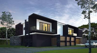 ตัวอย่างบ้านสไตล์โมเดิร์น 3D มีให้ดูตั้งแต่ภายนอกถึงฟังก์ชันภายใน