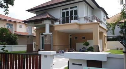 สร้างบ้านหลังใหม่สไตล์โมเดิร์นขนาดสองชั้น เผยการแต่งทุกมุมในบ้าน