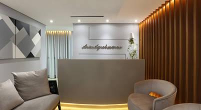 Projeto contemporâneo sofisticado para escritório em São Paulo