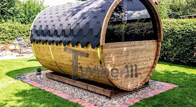 TimberIN hot tubs—outdoor saunas