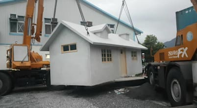 Check out these prefab movable houses with 3D floor plans!