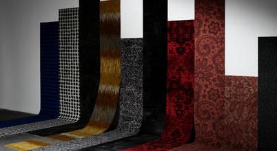 Alcatifas prontas a instalar com padrões inspirados em peças de arte e artesanato!