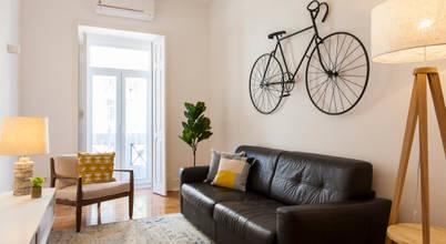 Remodelação a um apartamento lisboeta, para alojamento local