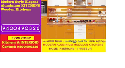 Bangalore ALUMINIUM MODULAR KITCHEN BANGALORE—LOW COST- PH 9400490326