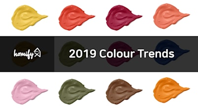 Pantone Colours: homify's favourites for 2019
