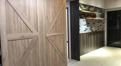 穀倉滑門:  餐廳 by 藏私系統傢俱