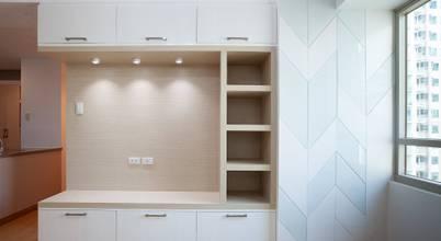 Contemporary interiors for 3-BR Condo Unit in Quezon City