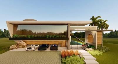 Projeto Arquitetônico de Casa de Campo Moderna em SC