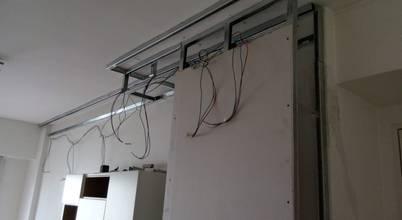 Diseño de interiores e iluminación de living en Cañitas