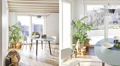Opções de mesas de refeição para salas mais bonitas