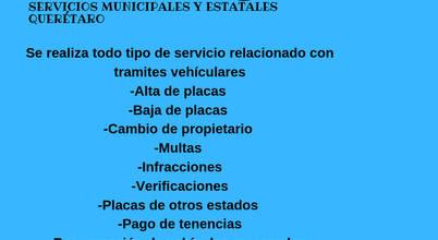 Servicios Municipales y Estatales Querétaro