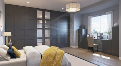 Expert touch to custom fitted bedrooms and furniture in London