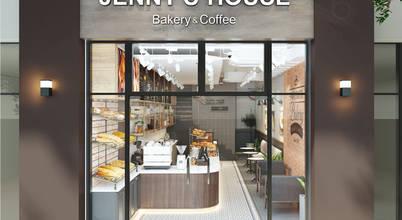 Tiệm bánh cà phê cải tạo từ nhà phố 2 tầng đẹp khó tin