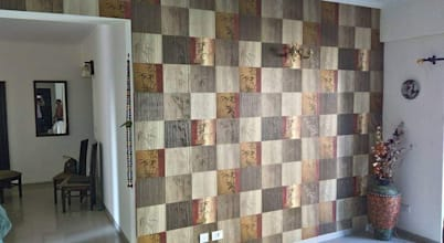Interior Point wallpaper blinds flooring
