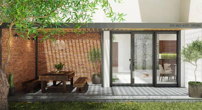 Bất ngờ với không gian nhà vườn trong thiết kế nhà phố hiện đại