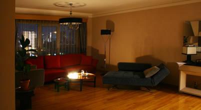 Modern, konforlu ve şık bir daire dekorasyonu