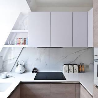 kuche design kuche design holz theke kochinsel kche kuche design rustic industrial style. Black Bedroom Furniture Sets. Home Design Ideas