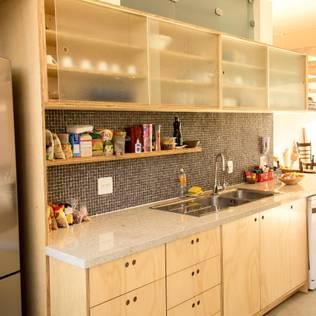 Кухня в . Автор – Ruta arquitetura e urbanismo