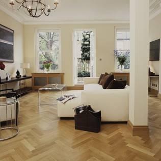 جدران وأرضيات تنفيذ The Natural Wood Floor Company