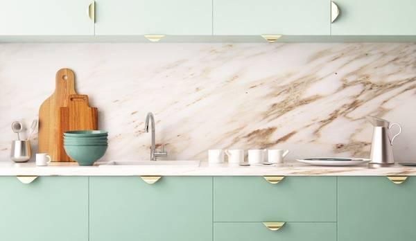 Matt finish kitchen designs by Mumbai interior designers