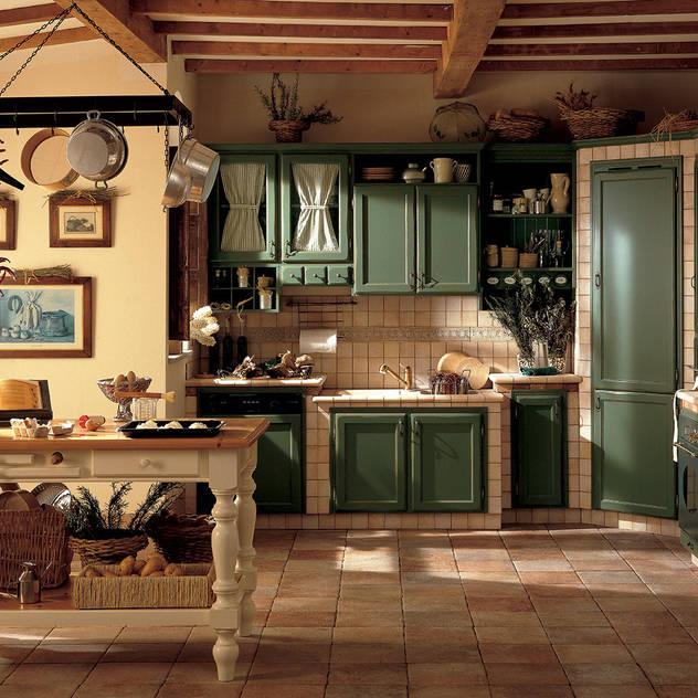 rustic Kitchen by Perimetro Cucine
