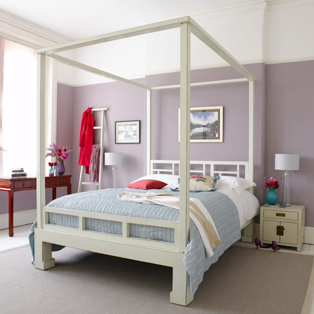 Bedroom Furniture: asian Bedroom by Orchid