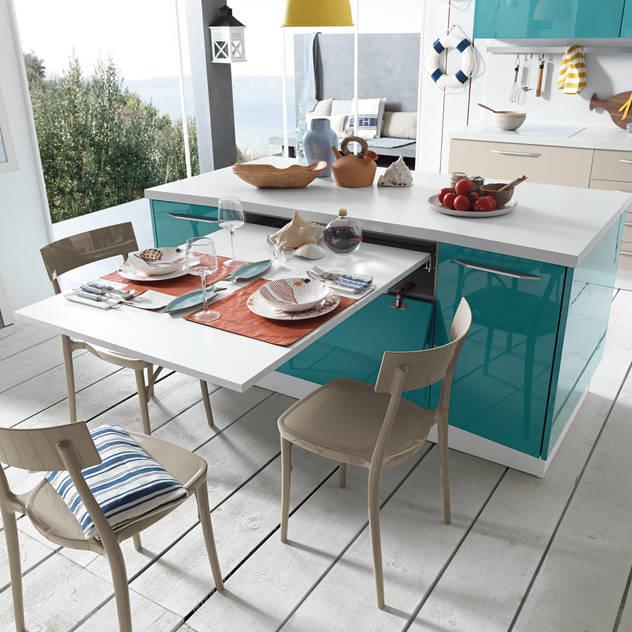 moderne Küche von Atim Spa