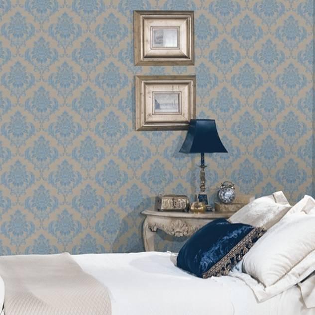 4 Duvar İthal Duvar Kağıtları & Parke – Uygulamalar 2 : klasik tarz tarz Duvar & Zemin
