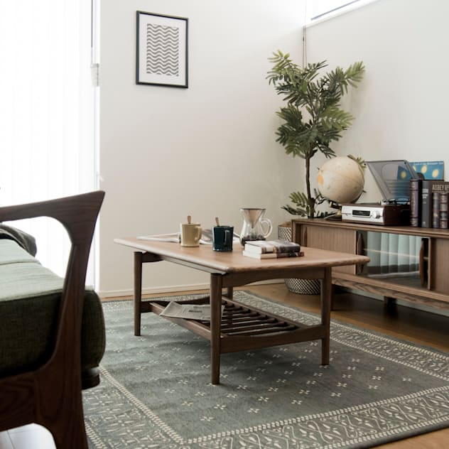 scandinavian Living room by Sisusta