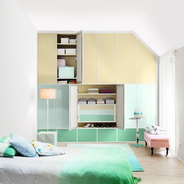 modern Bedroom by CABINET Schranksysteme AG
