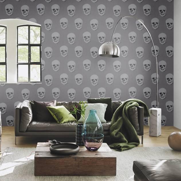 HannaHome Dekorasyon – Rock'n Roll ruhu duvarlarınızda!: modern tarz Duvar & Zemin