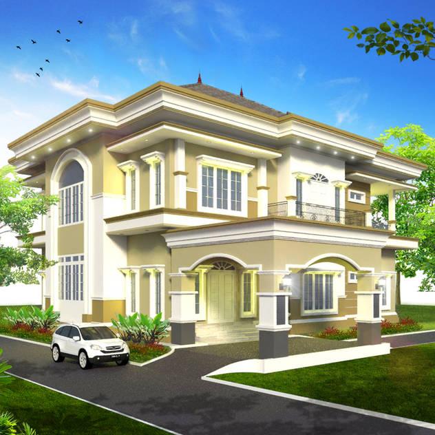 Rumah Tinggal Mr. Fakundus Tjoran, Kutai Kartanegara, Kaltim:   by MasIrfun