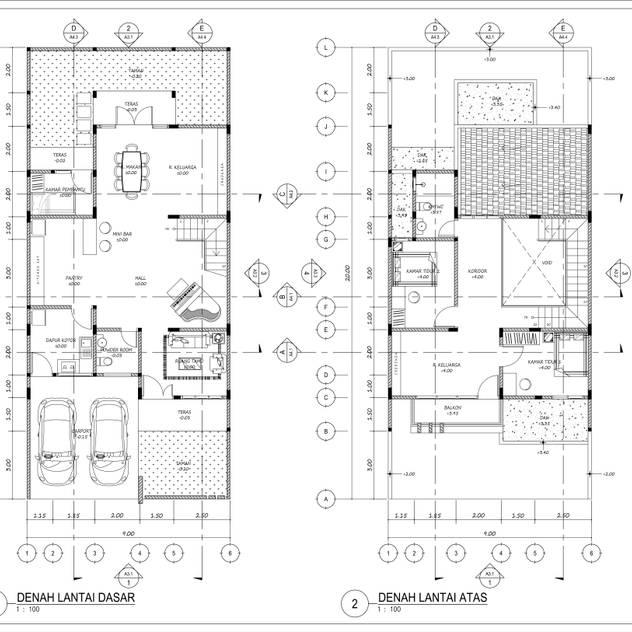 Rumah Tinggal Mr. Liem, Cileungsi, Bogor:   by MasIrfun