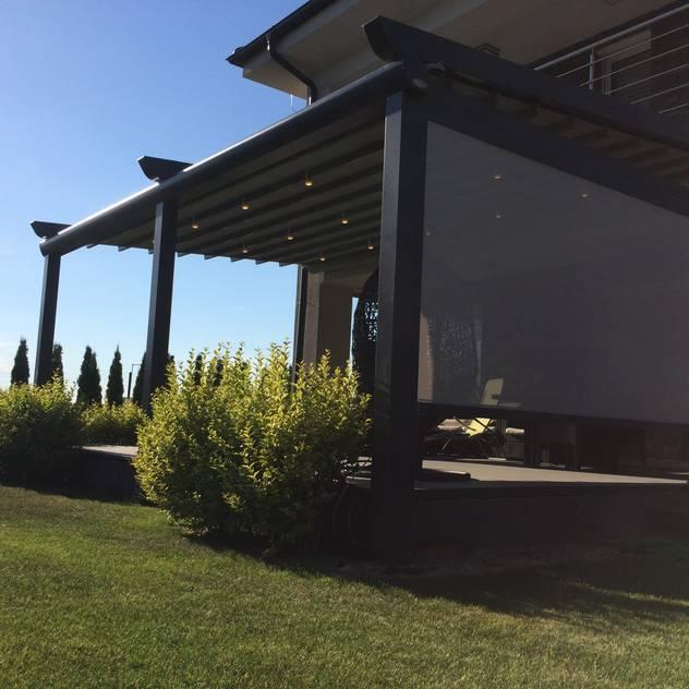 PERGOLA A.Ş. – PERGOLA ALU AVANTGARDE: modern tarz Bahçe