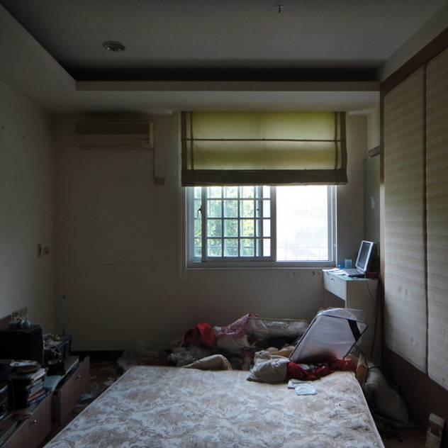 臥室改造前 漢玥室內設計