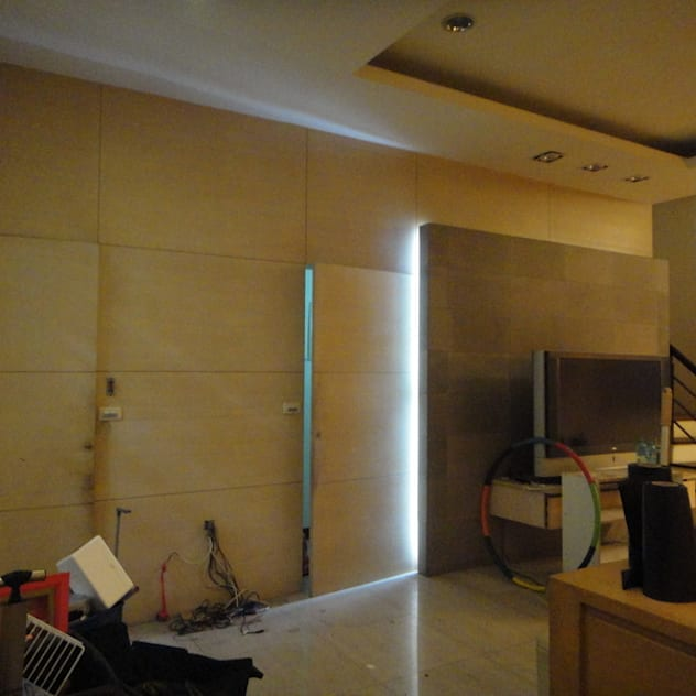 客廳改造前 漢玥室內設計