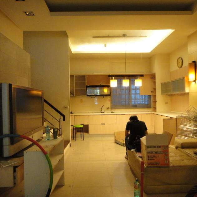 廚房改造前 漢玥室內設計