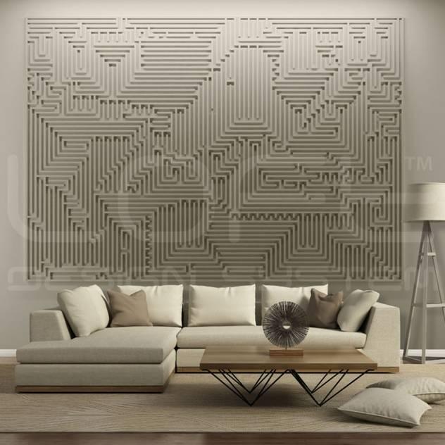 Wandbild aus Gips Modell ARCHETYPE: modern von Loft Design System Deutschland - Wandpaneele aus Bayern,Modern