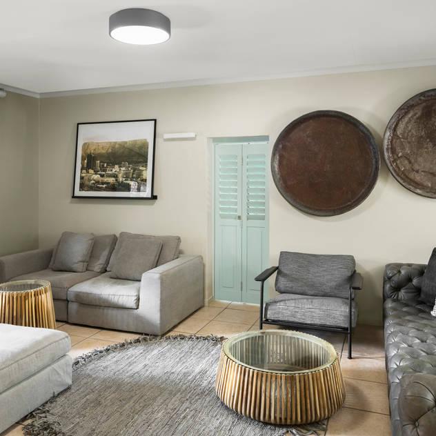 Vorna Valley Living Room Makeover by Deborah Garth Interior Design International (Pty)Ltd