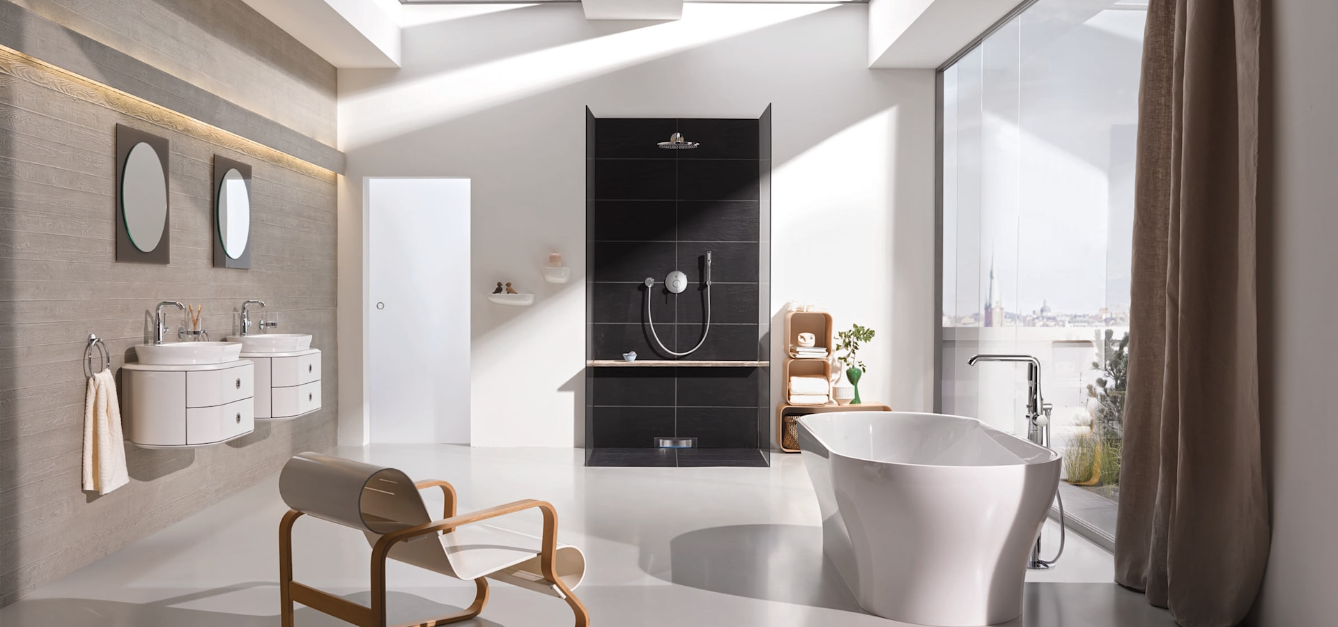 armaturenlinie essence von grohe ag homify. Black Bedroom Furniture Sets. Home Design Ideas