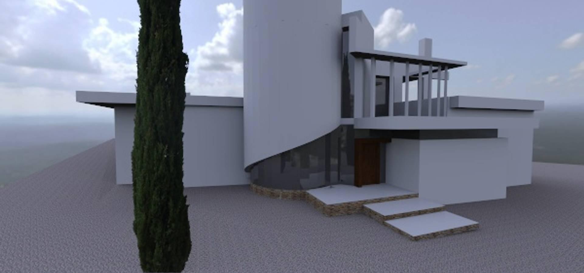 Vivienda unifamiliar en torre guil murcia de arquitecto - Arquitectos en murcia ...