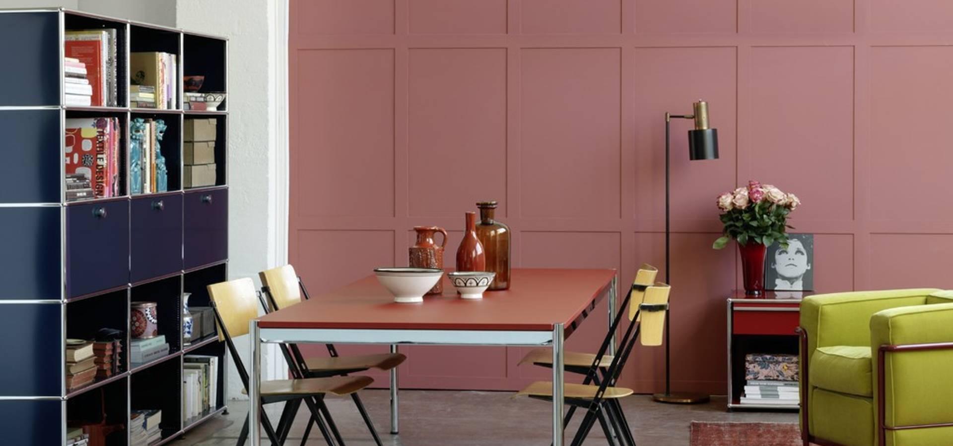 usm m belbausysteme muebles y accesorios en b hl homify. Black Bedroom Furniture Sets. Home Design Ideas