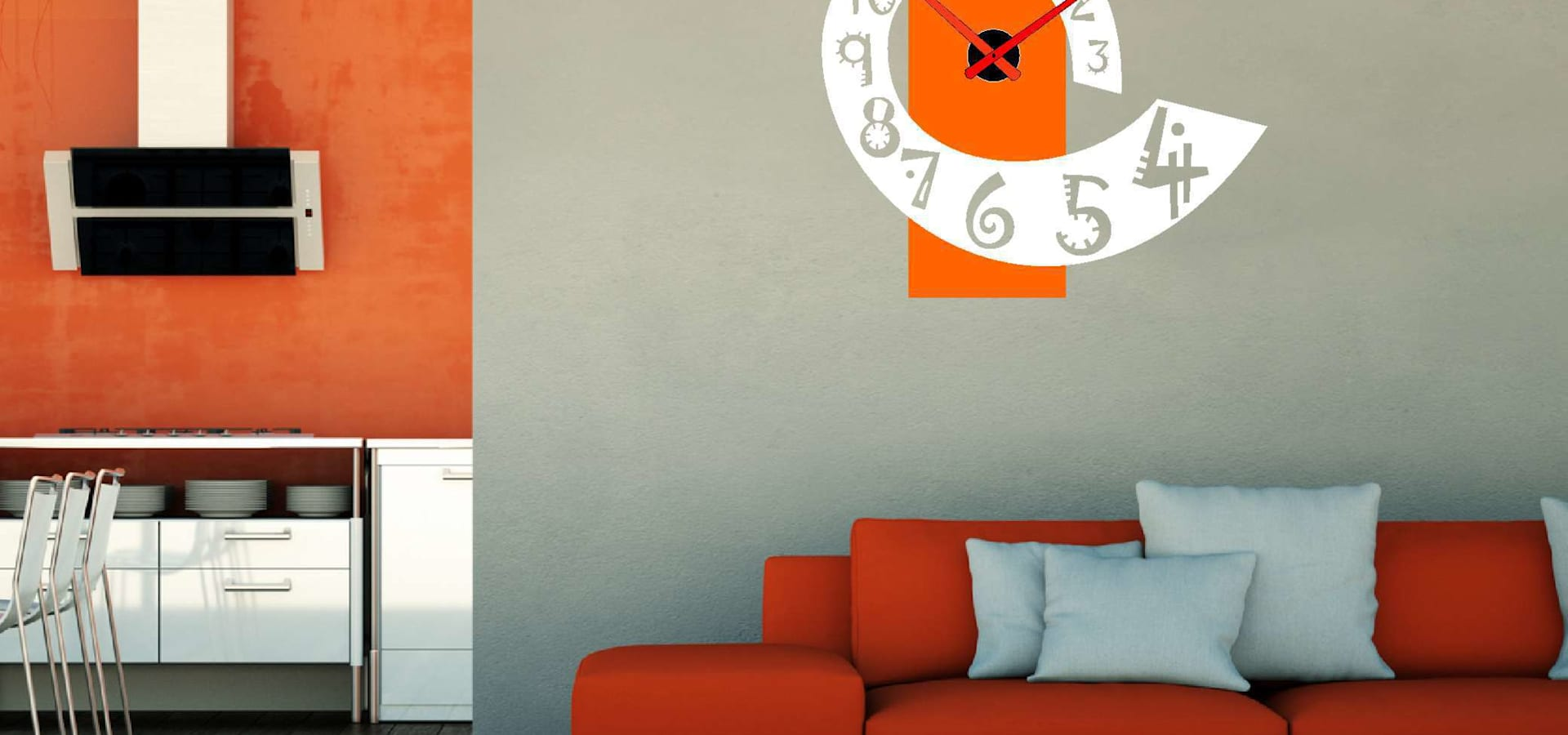 Reloj de pared vertical dise o y funcionalidad by for Disenos para paredes