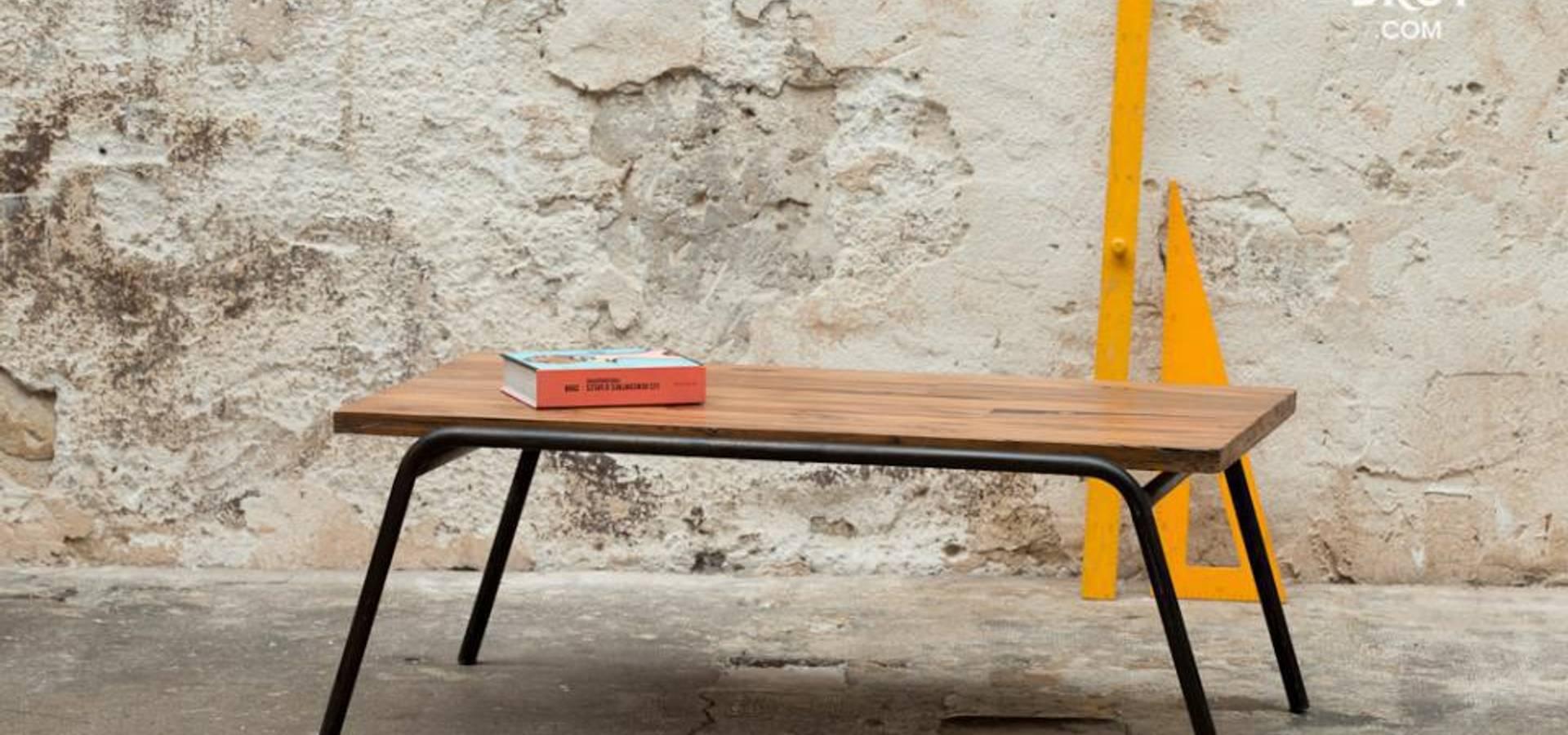 table basse regular di maison en vogue s a s homify. Black Bedroom Furniture Sets. Home Design Ideas