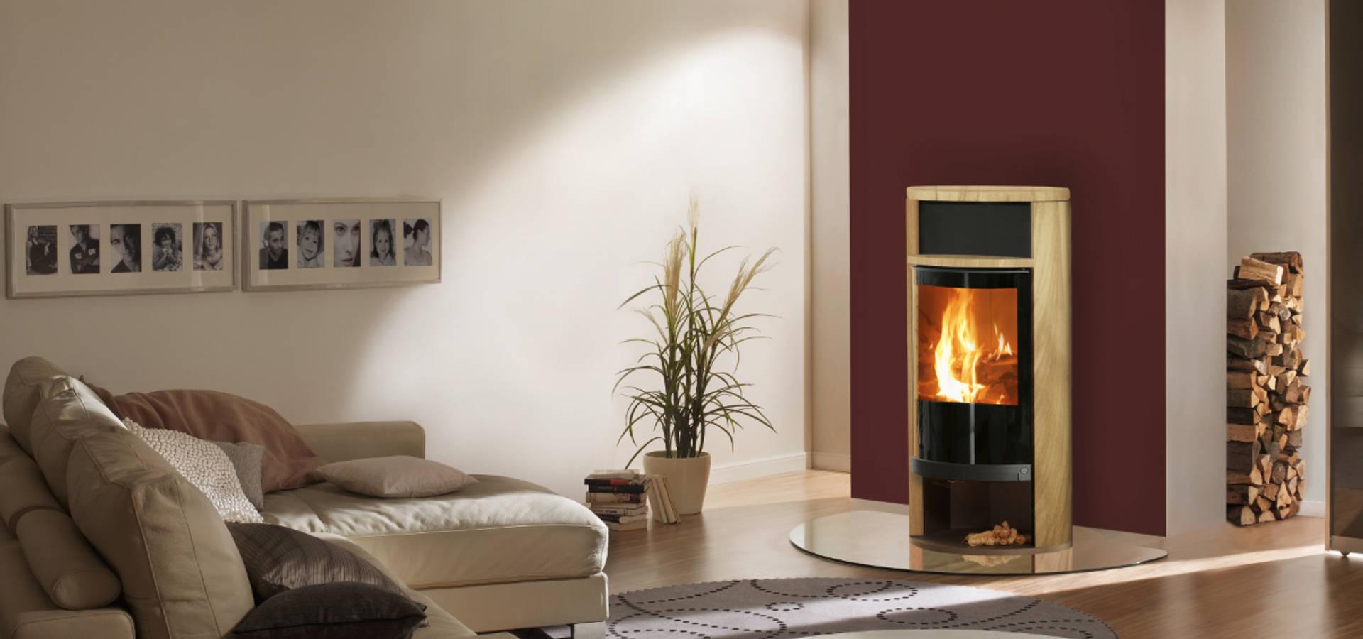 kamin mit spartherm kamineinsatz by kachelofen kamin homify. Black Bedroom Furniture Sets. Home Design Ideas
