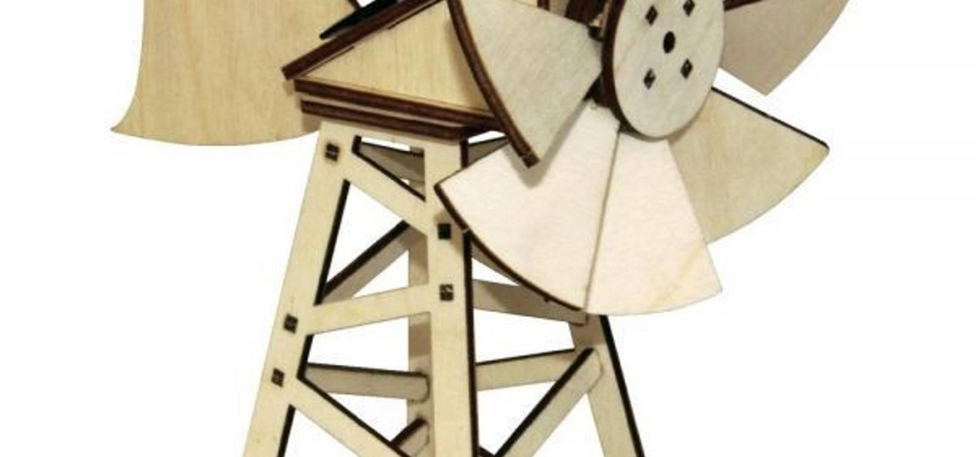 maquette en bois olienne solaire am ricaine par jardin design deco eco homify. Black Bedroom Furniture Sets. Home Design Ideas