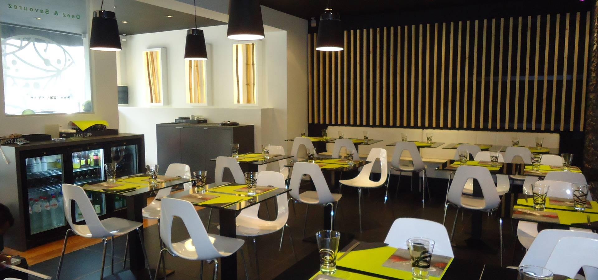 Aménagement restaurant COTE SUSHI par ma-interieur | homify