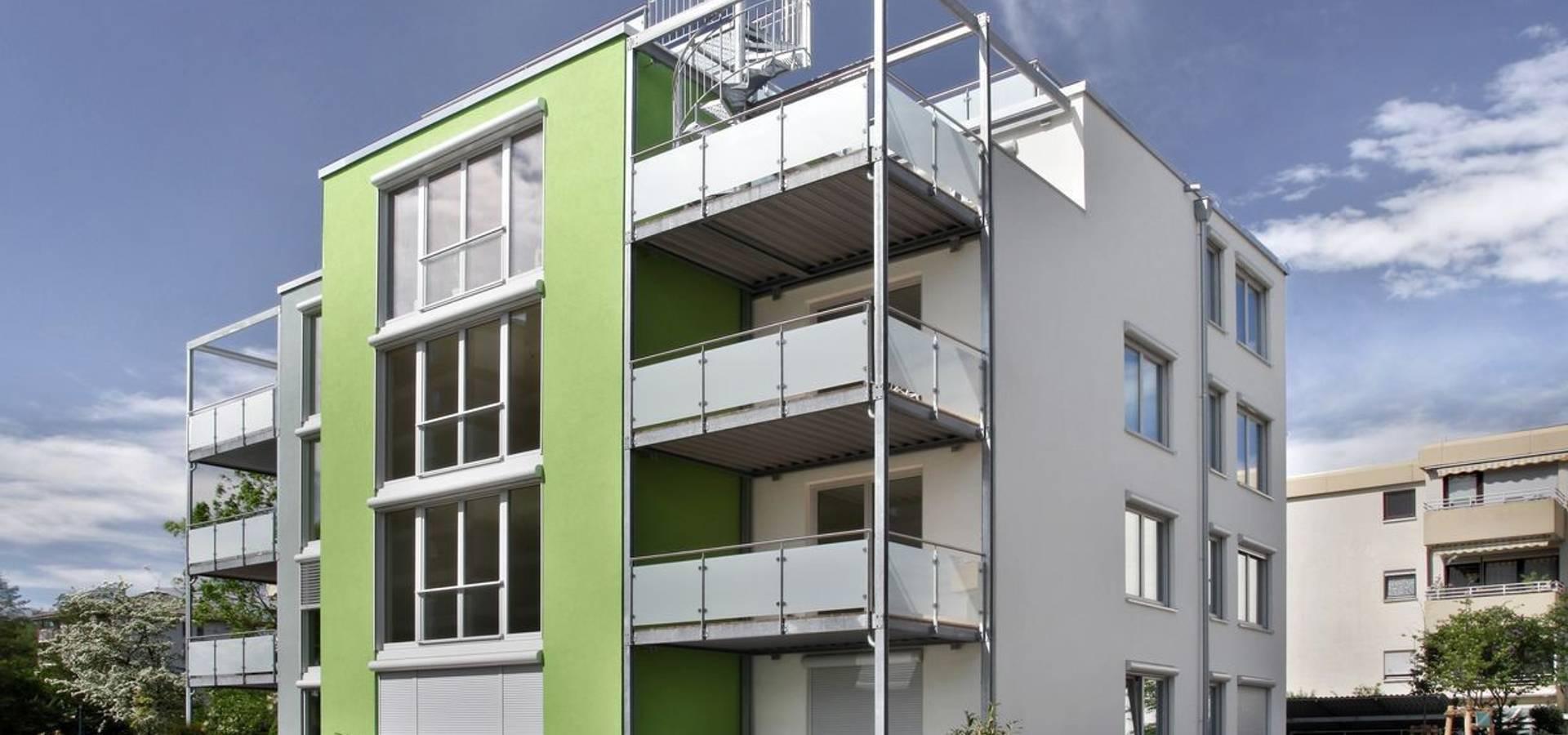Neubau Passivhaus 8 Wohneinheiten Von BischOtteni