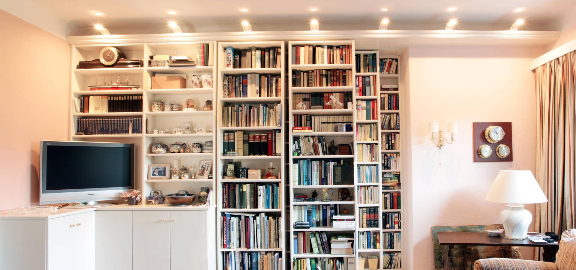 Bibliothekswand von Müller Tischlerei GmbH&Co KG | homify
